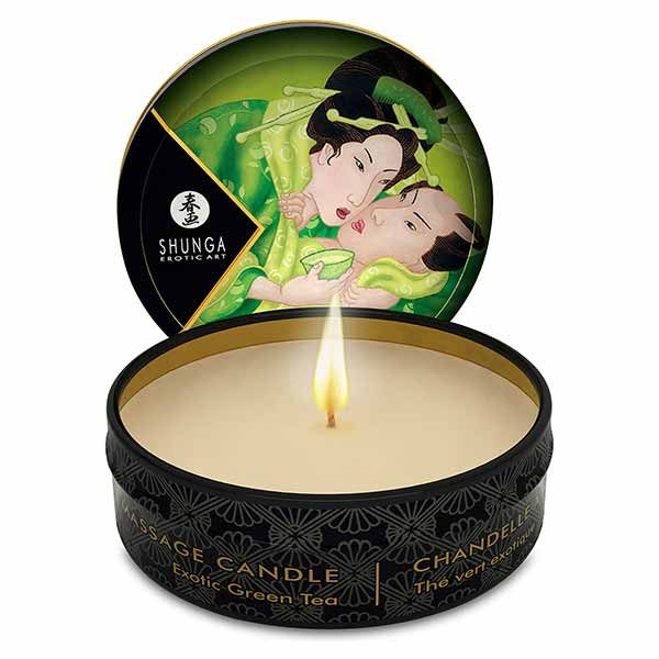 Shunga Mini Massagekaars Green Tea