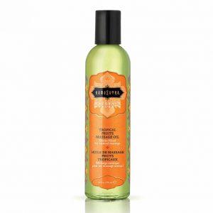 Kamasutra Naturals Massage Olie Tropische Vruchten 200 ml