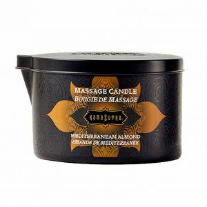 Kamasutra Massage Kaars Mediterranean Almond 170 gr