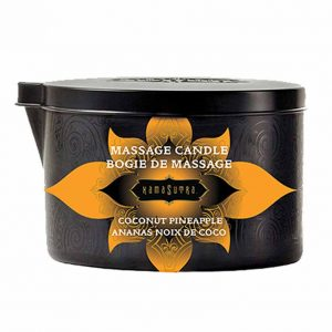 Kamasutra Massage Kaars Coconut Pineapple 170 gr