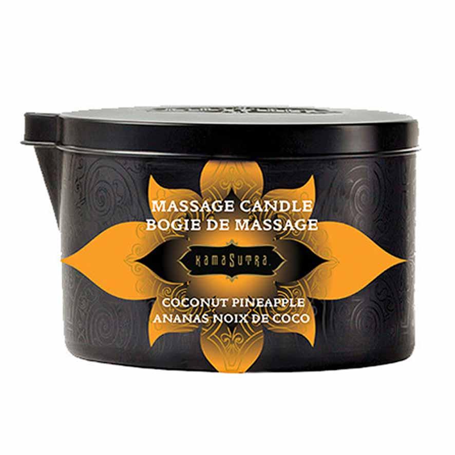 Kamasutra Massage Kaars Coconut Pineapple 170 gr